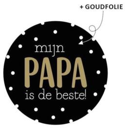 Cadeausticker Papa