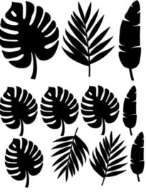 Tropische bladeren