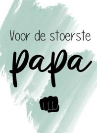 Minikaartje papa