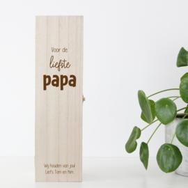 Wijnkist Papa/Opa