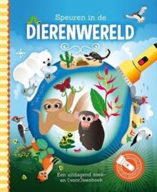 Zaklampboek Speuren in de dierenwereld