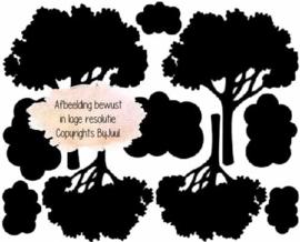Uitbreiding Bomen en Wolken