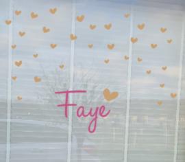 Gebooresticker Faye