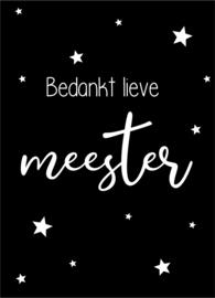 Minikaartje Meester