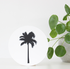 Muurcirkel Palm 20 cm