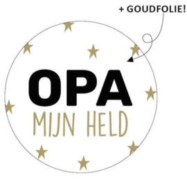 Cadeausticker Opa