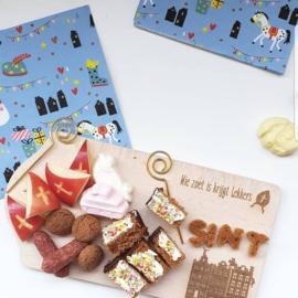 Broodplankje Sint en Kerst