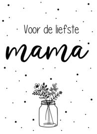 Minikaartje Mama Bloemen