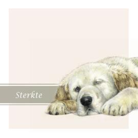 Condoleance kaart hond