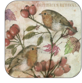 Coaster Robin, per 3 pieces