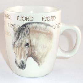 Mug Fjord horse - per 3 pieces