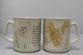 Mug Persian Cat - per 3 pieces