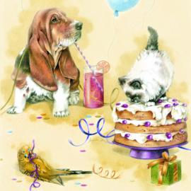 Hieperdepiep, Hoera. Welkom op mijn verjaardagsfeestje!!!!!