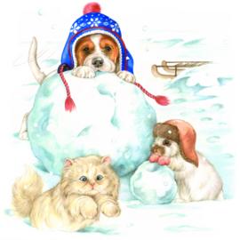 Doe je mee? Dan maken we samen een sneeuwpop.