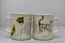 Mug European Shorthair cat - per 3 pieces