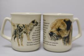 Mok Border Terrier - set van 3 stuks