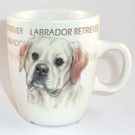 Mug Labrador, per 3 pieces