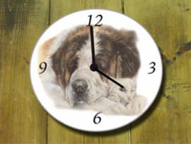 Clock Saint Bernard, per 1 piece