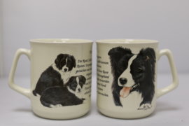 Mug Border Collie - per 3 pieces