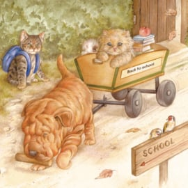 Uiteindelijk worden we er allemaal wijzer van, back to school.......