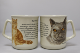 Mug British Shorthair - per 3 pieces
