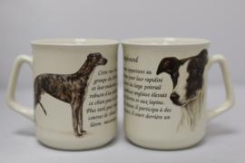Mok met Greyhound - set van 3 stuks