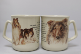 Mug Scottish Collie - per 3 pieces
