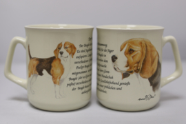 Mug Beagle - per 3 pieces
