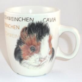Mug Guinea Pig, per 3 pieces