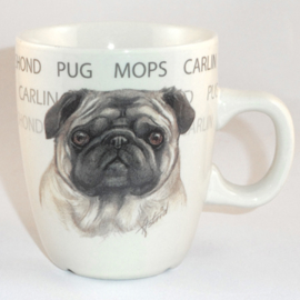 Mug Pug - per 3 pieces