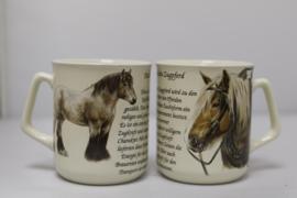 Mok Belgisch Trekpaard - set van 3 stuks