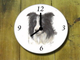 Clock Border Collie, per 1 piece