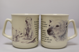 Mug Polar Bear - per 3 pieces