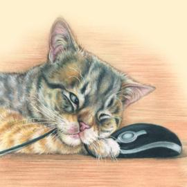 Maakt niet uit wat voor muis, ik kan me gewoon niet beheersen.
