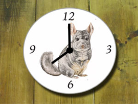 Clock Chinchilla, per 1 piece