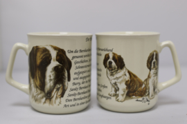 Mug Saint Bernard - per 3 pieces