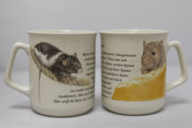 Mug Rat - per 3 pieces