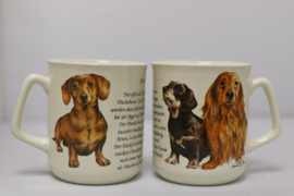 Mug Dachshund - per 3 pieces