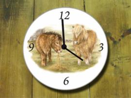 Clock Shetlanders, per 1 piece