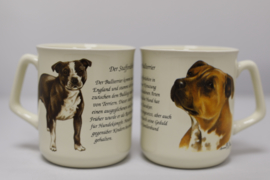 Mug Staffordshire Terrier - per 3 pieces