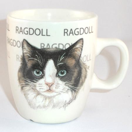 Senseo mok Ragdol - per set van 3 stuks