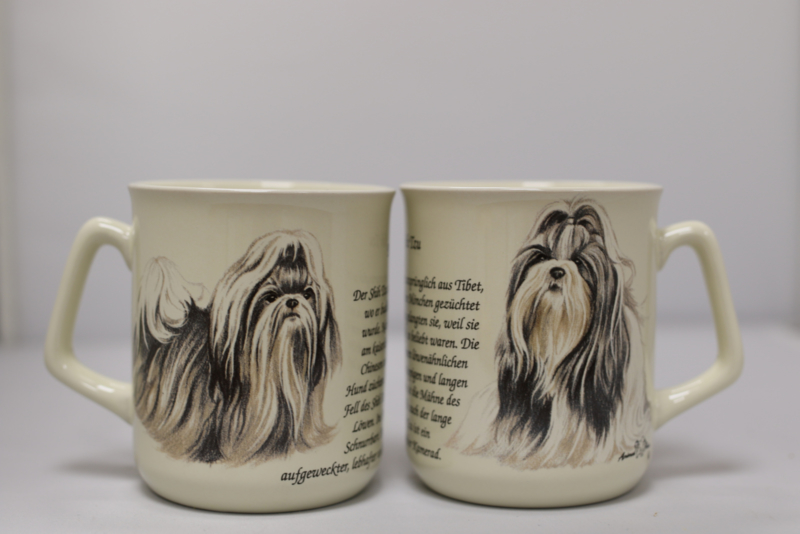 Mug Shih Tzu - per 3 pieces