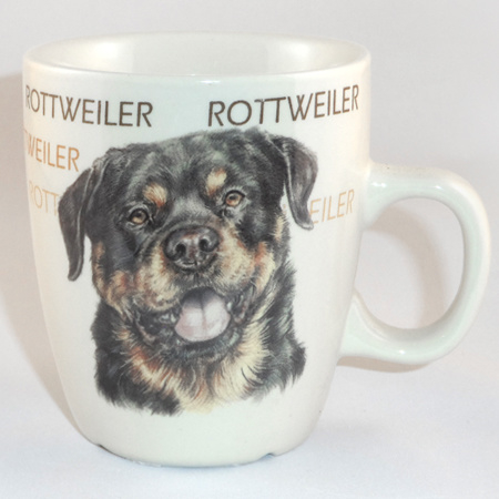Senseo mok Rottweiler - per set van 3 stuks
