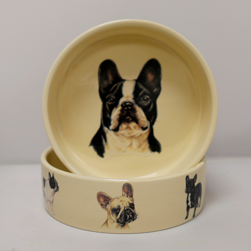 Feedingtray French Bulldog, per 1 piece