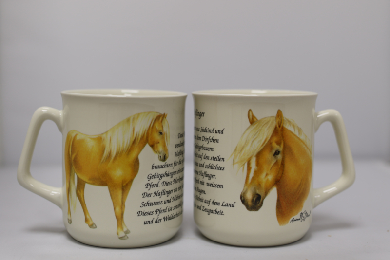 Mug Haflingers - per 3 pieces