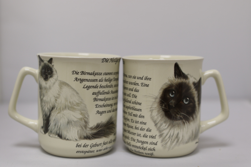 Mug Holy Birman Cat - per 3 pieces
