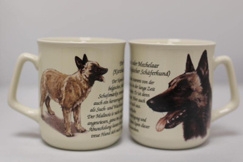 Mug Belgian Shepherd - per 3 pieces