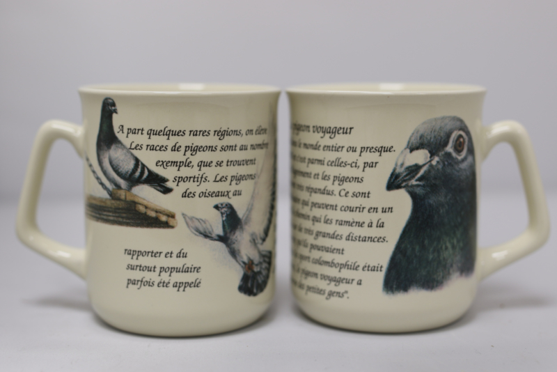 Mug Pigeon - per 3 pieces
