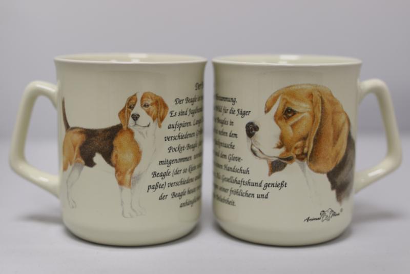 Tasse Beagle, pro 3 stück