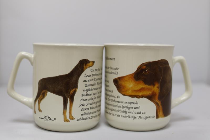 Mug Dobermann Pinscher - per 3 pieces